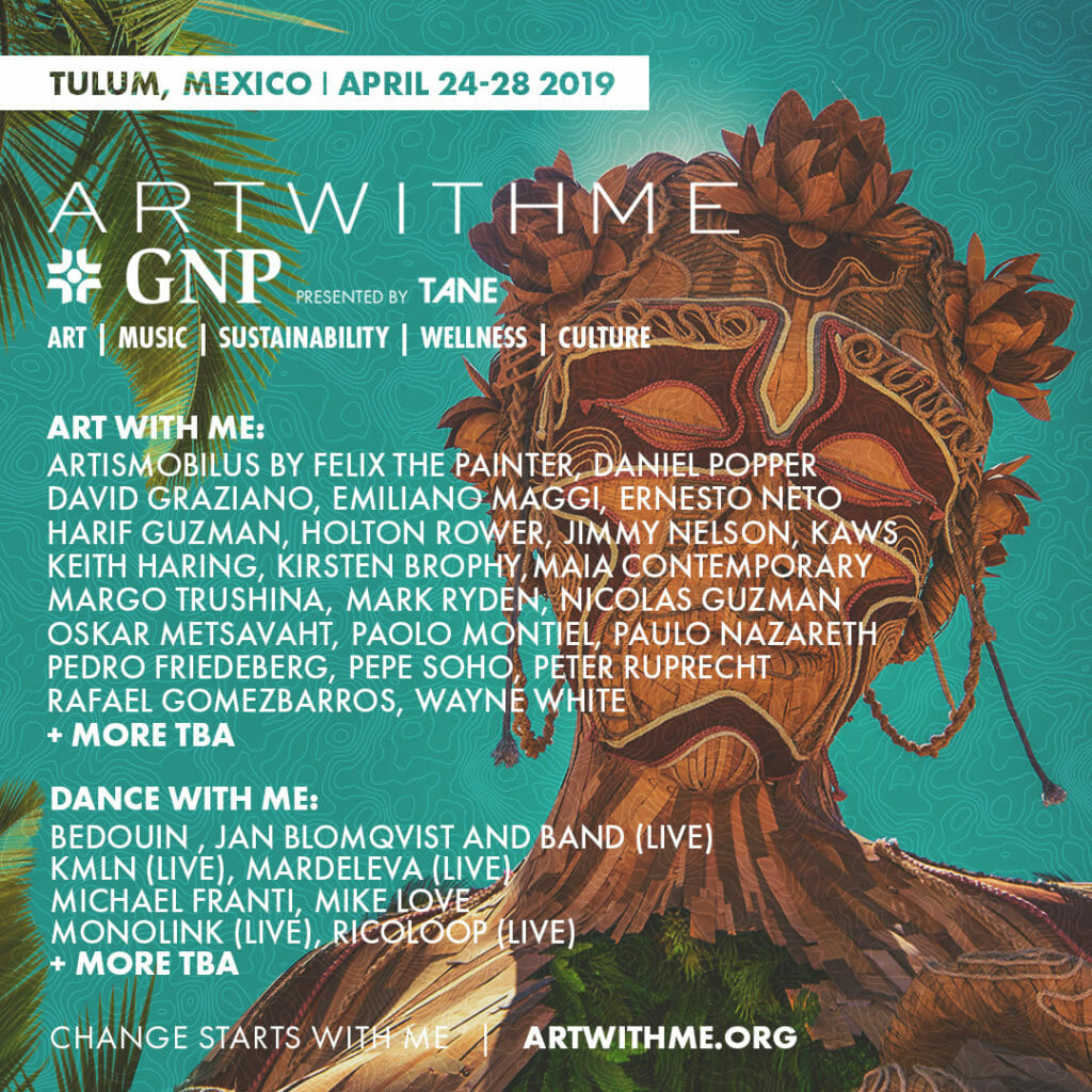 Art with Me Festival in Tulum