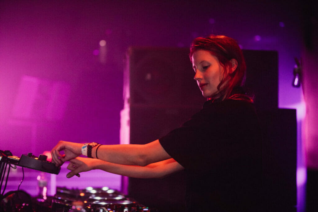 Charlotte de Witte brings techno vibes to the Brooklyn warehouse, Avant Gardner.