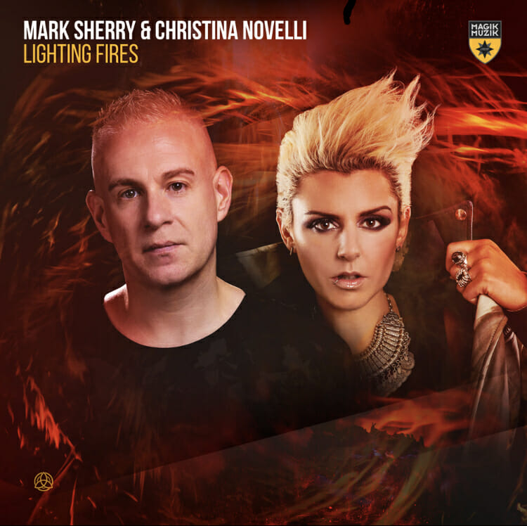Mark Sherry's expertise in production combined with the powerful vocals of Christina Novelli fuse together to make a trance masterpiece, 'Lightning Fires' — the second single of Mark's upcoming LP.