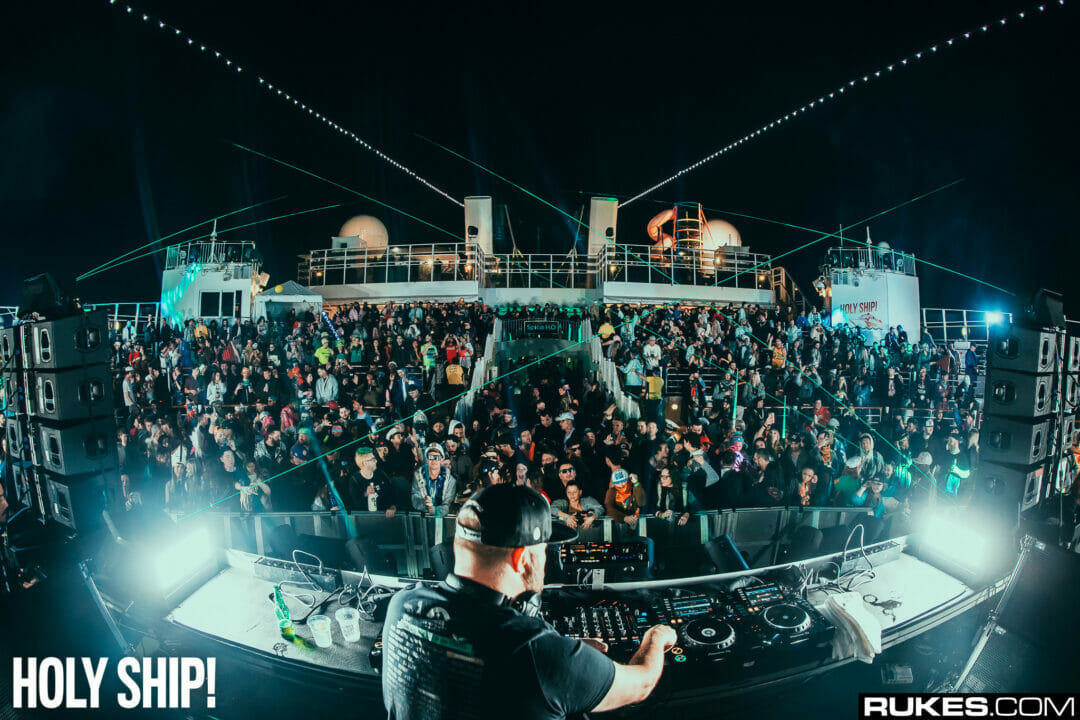 Claude VonStroke at Holy Ship