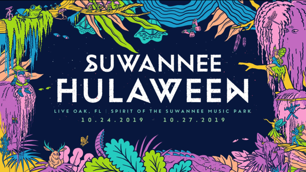 Suwannee Hulaween 2019 announcement