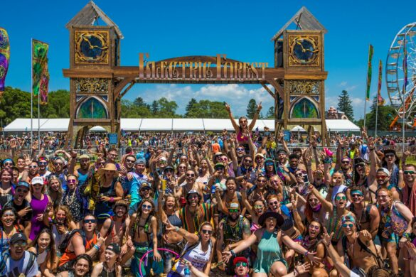 The gates of Electric Forest