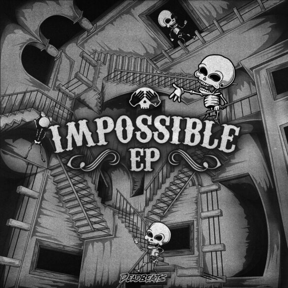 Peekaboo's Impossible EP artwork