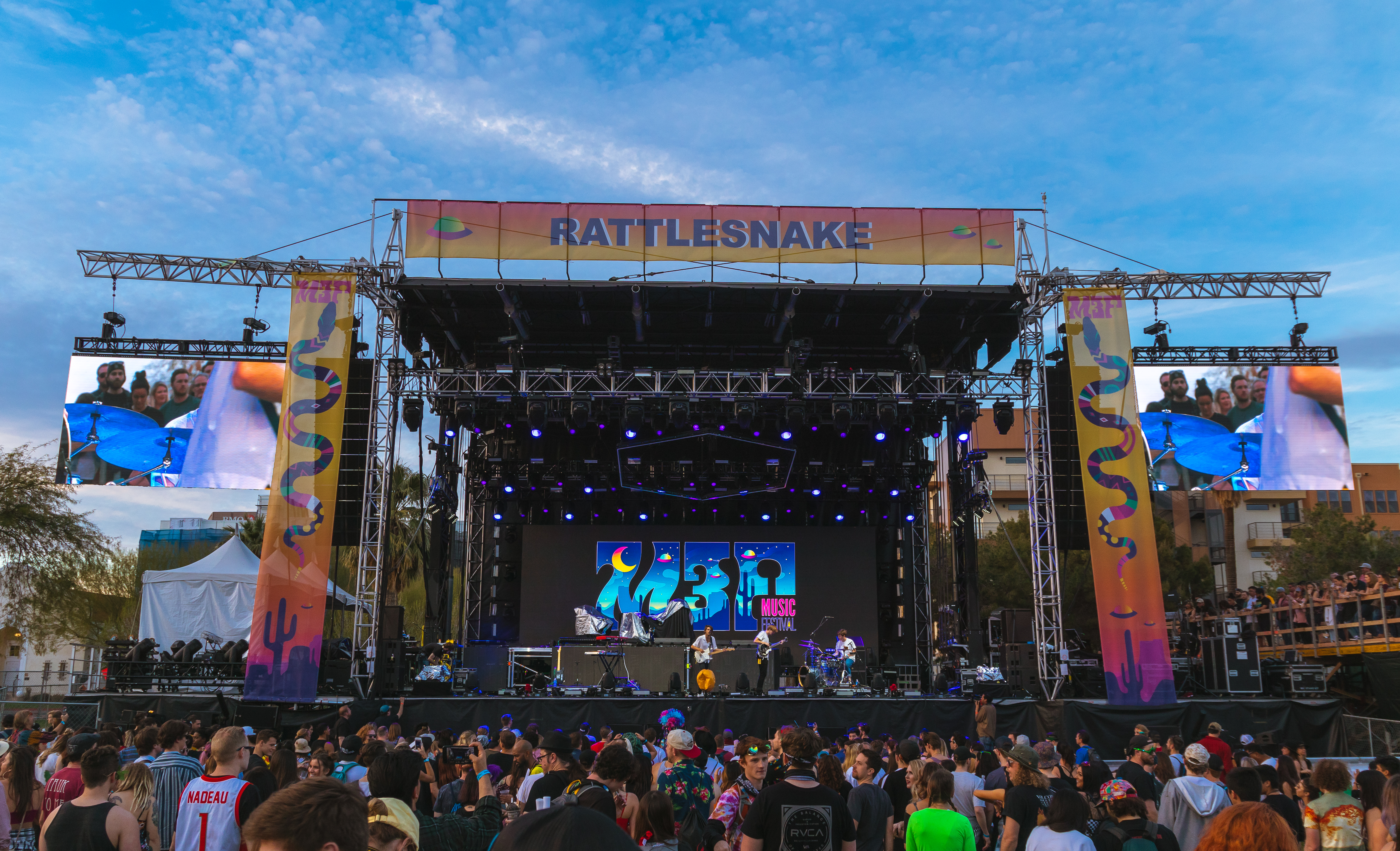Main stage at M3F | Photo by Aryelle Brewster