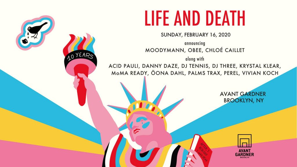 Life and Death Flyer 2020 | Image Via Life and Death FB