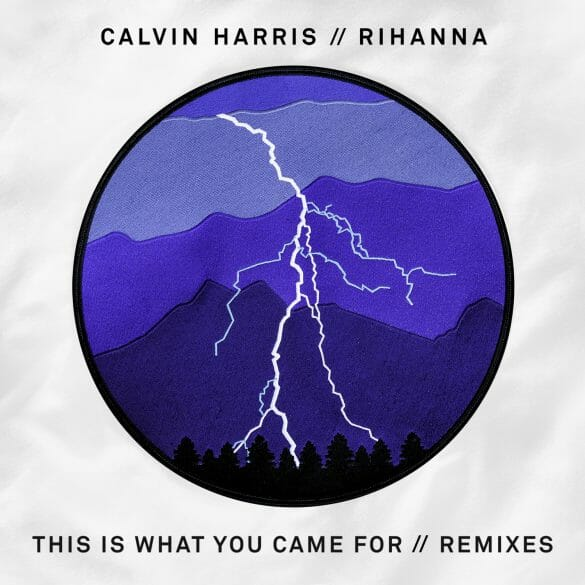 """remix of Calvin Harris and Rihanna """"This is What You Came For"""","""