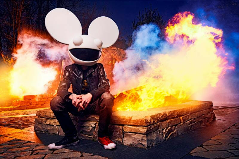 Deadmau5 returns to New York City Pier 17