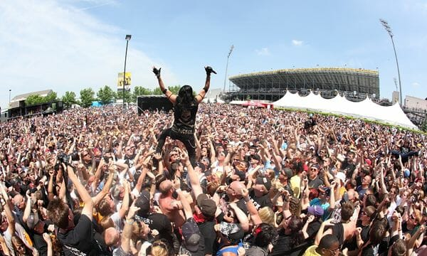 The Interrupters Rock on the Range and Sonic Temple Music Festival
