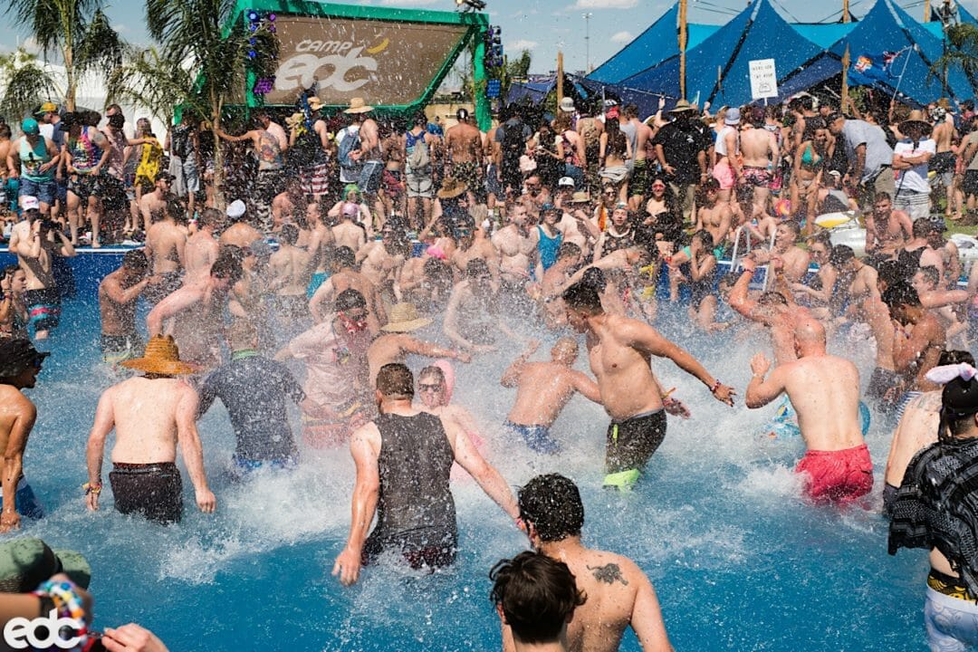 Camp EDC Pool Parties
