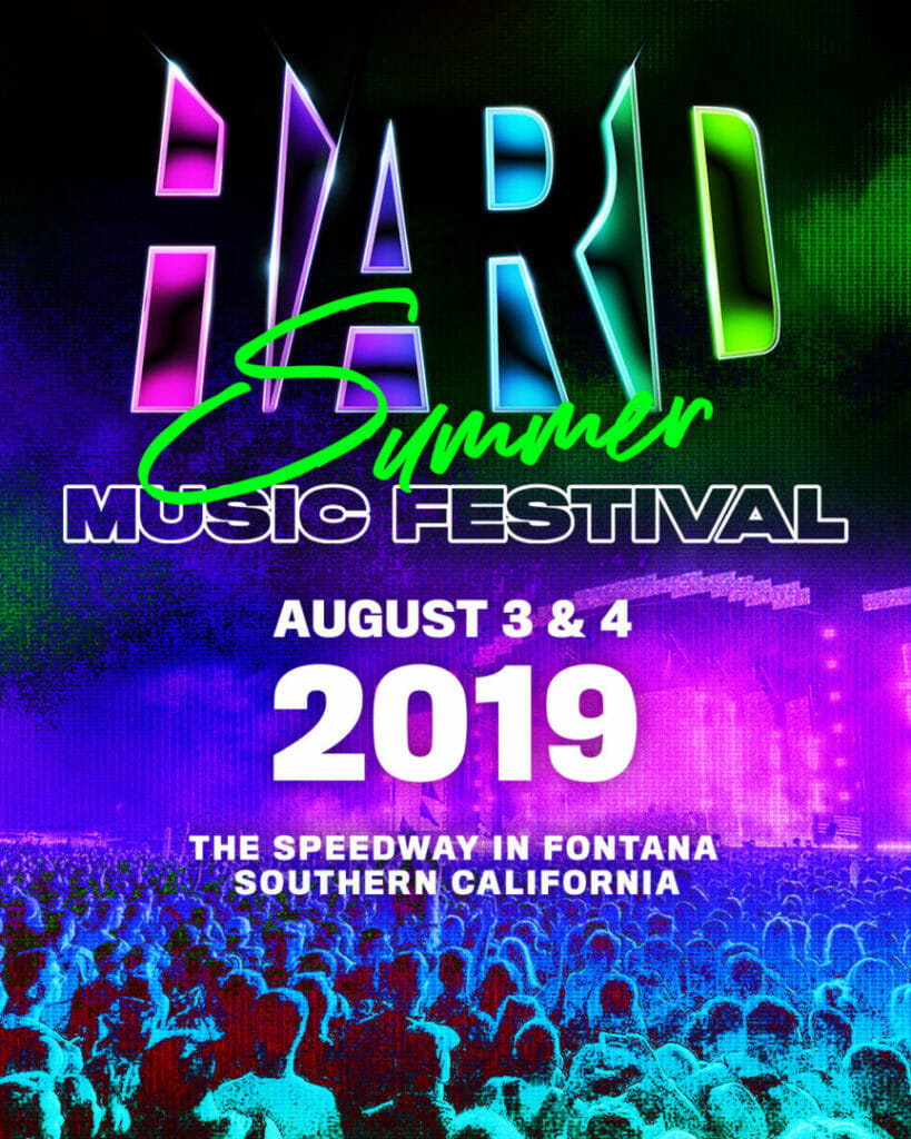 Hard Summer Announcement Flier