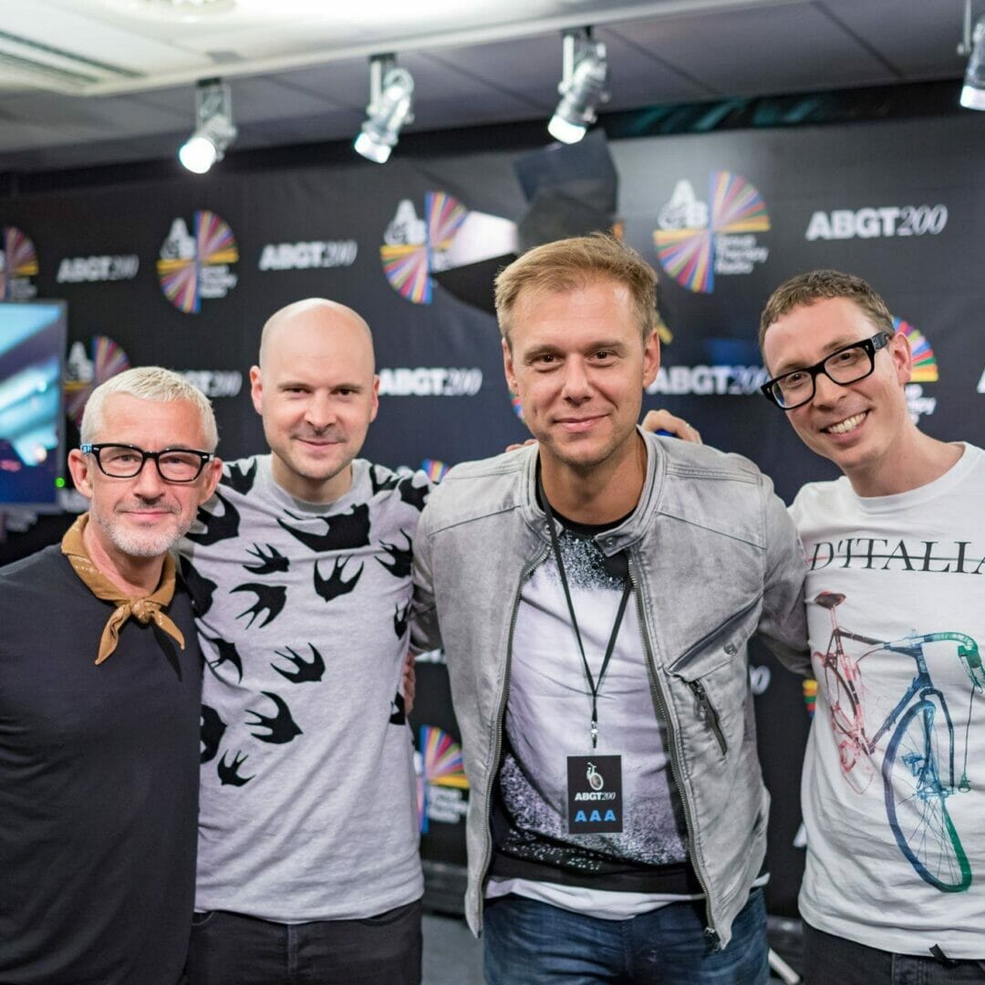 armin van buuren and above and beyond at ABGT200