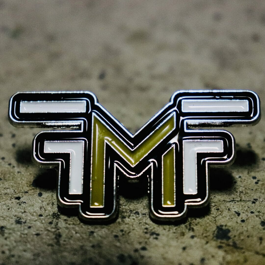 Official FMF Logo Pin | Front