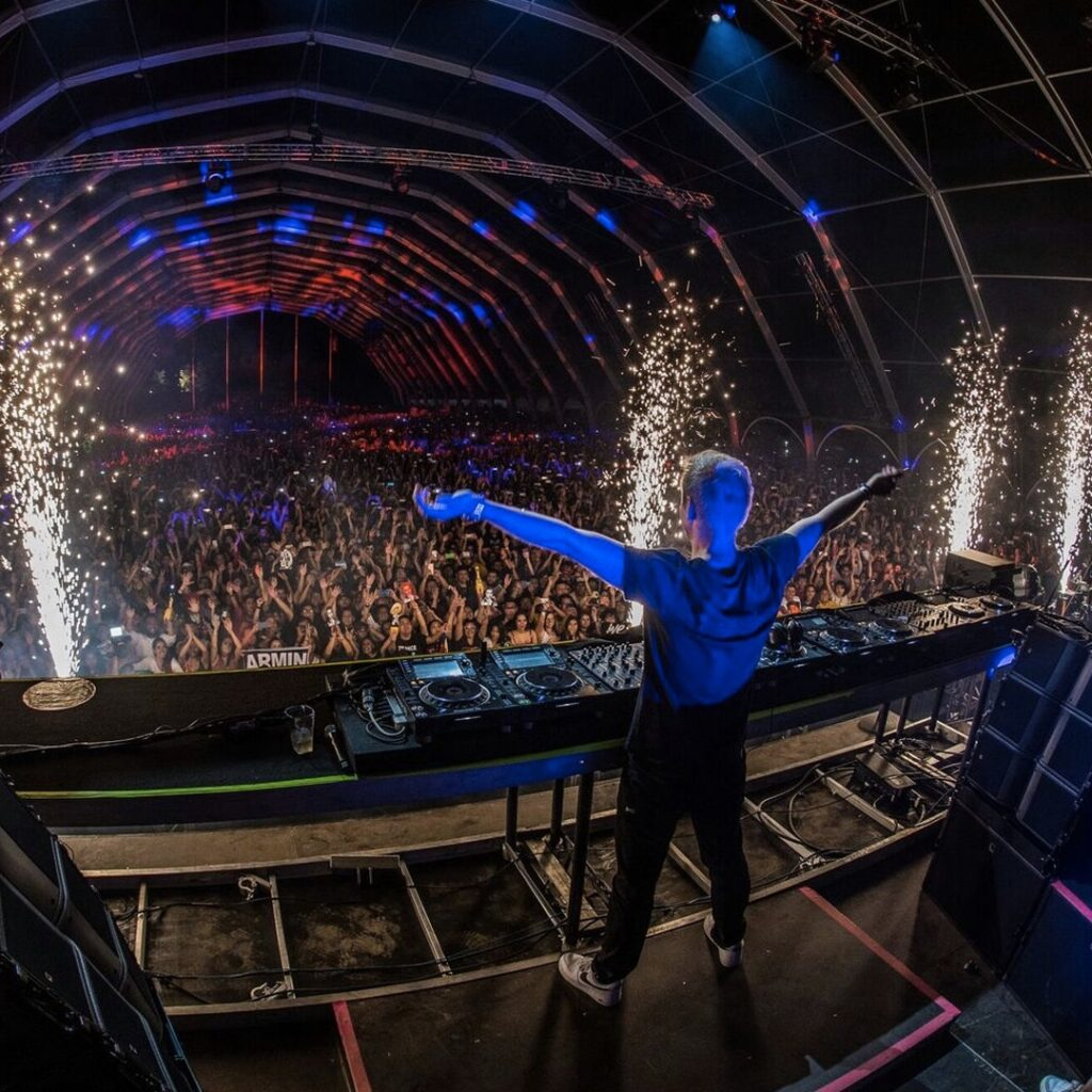 Armin van Buuren lifting us higher into a state of trance!