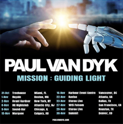 Catch PVD on the Mission: Guiding Light Tour at a city near you!
