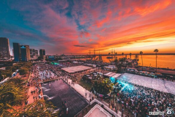 CRSSD at sunset