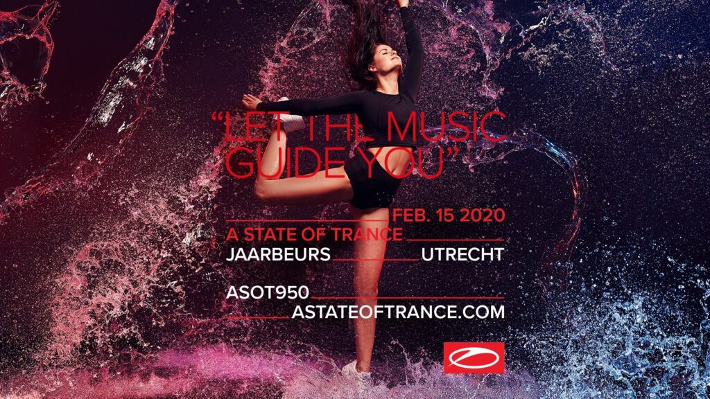 A State of Trance 950 at Jaarbeurs in Utrecht, The Netherlands takes place on February 15th.