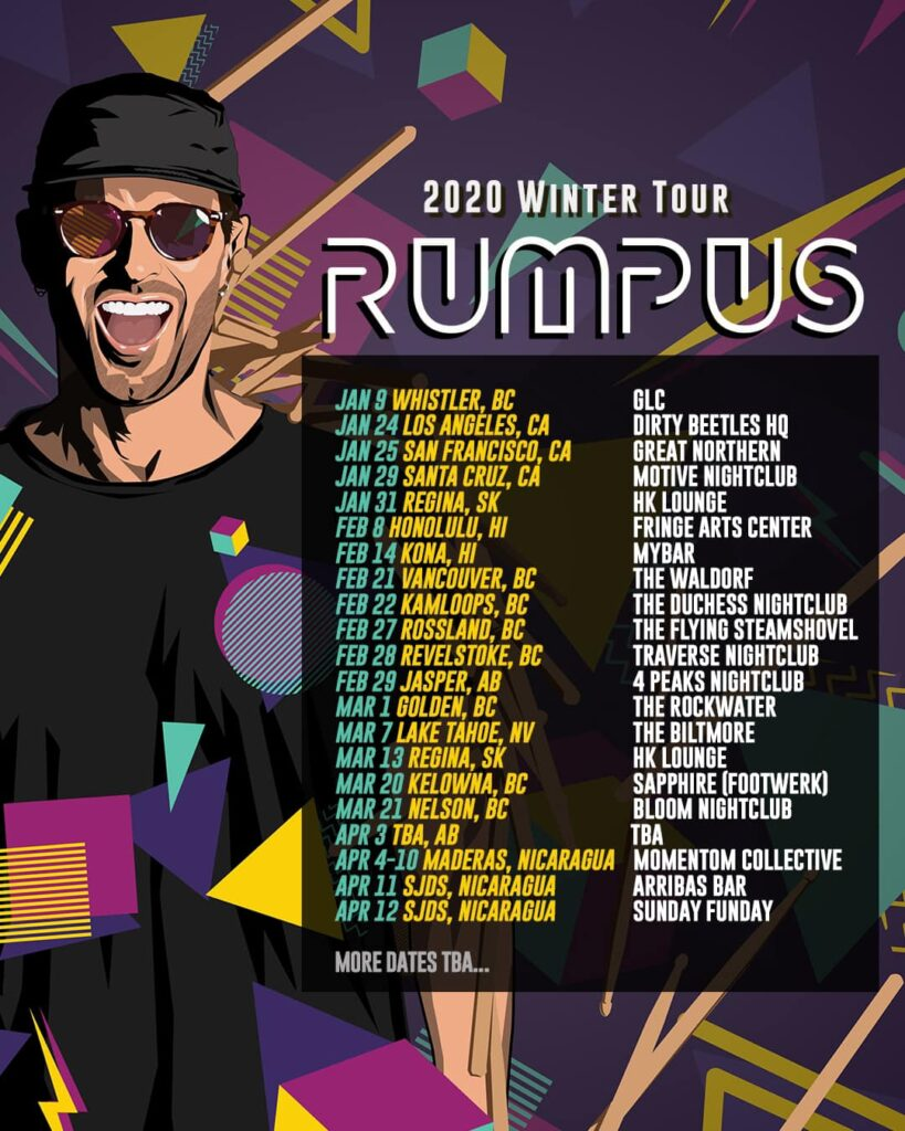 rumpus winter tour dates interview