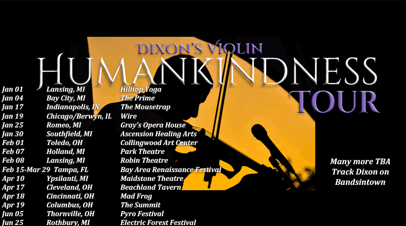 Human Kindness Tour Dixon's Violin